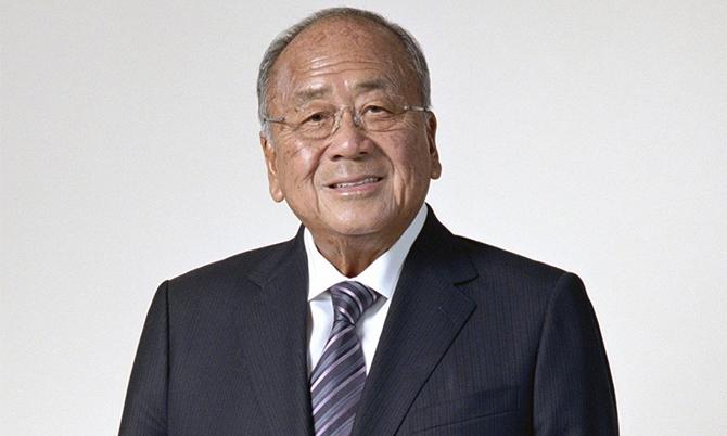 Tỷ phú Lee Man-tat, Chủ tịch Tập đoàn Lee Kum Kee. Ảnh: SCMP.