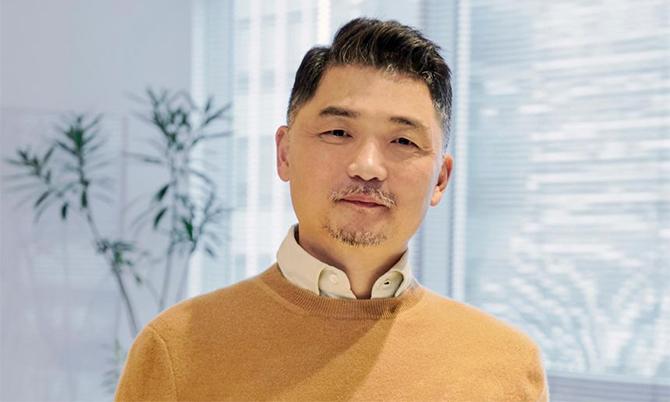 Tỷ phú Brian Kim, nhà sáng lập Kakao Corp. Ảnh: Kakao.
