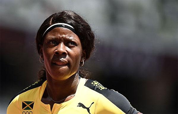 Chân chạy Jamaica mất suất vào bán kết 200 m một cách cay đắng. Ảnh: AFP.