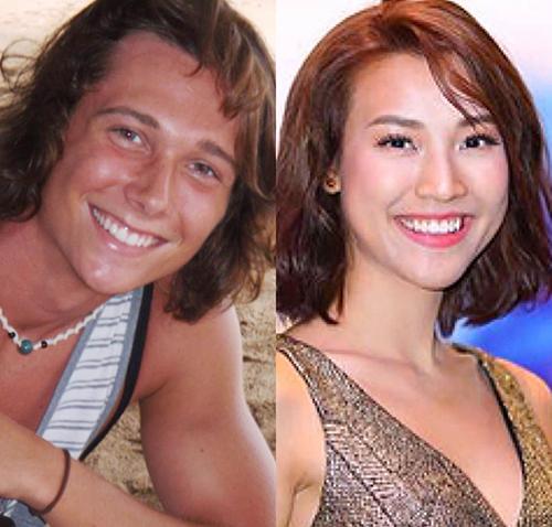 MC Hoàng Oanh đăng ảnh ông xã lúc 20 tuổi để tóc dài và hài hước viết: Năm 20 tuổi ổng đã đi để tóc dài cho giống tôi. Nhiều bạn bè, khán giả nhận xét cặp đôi có tướng phu thê vì có nhiều nét giống nhau.