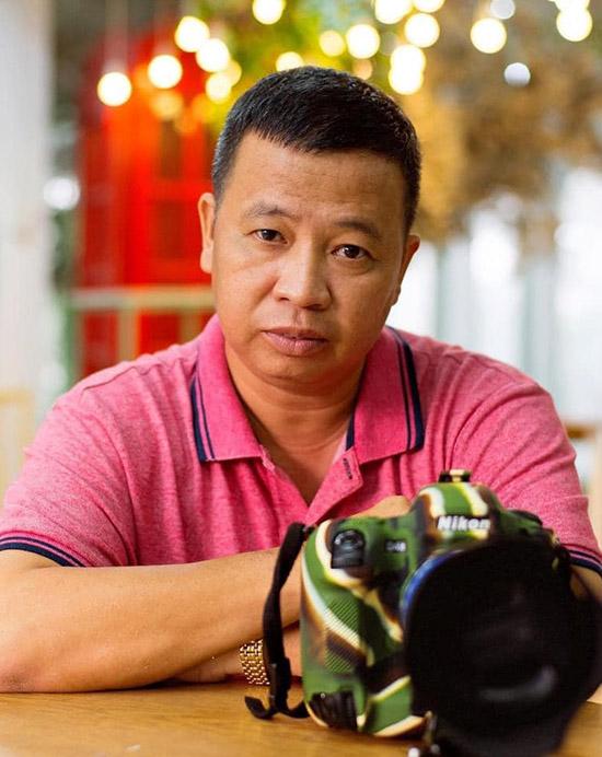 Cascadeur, nhiếp ảnh gia Lữ Đắc Long.