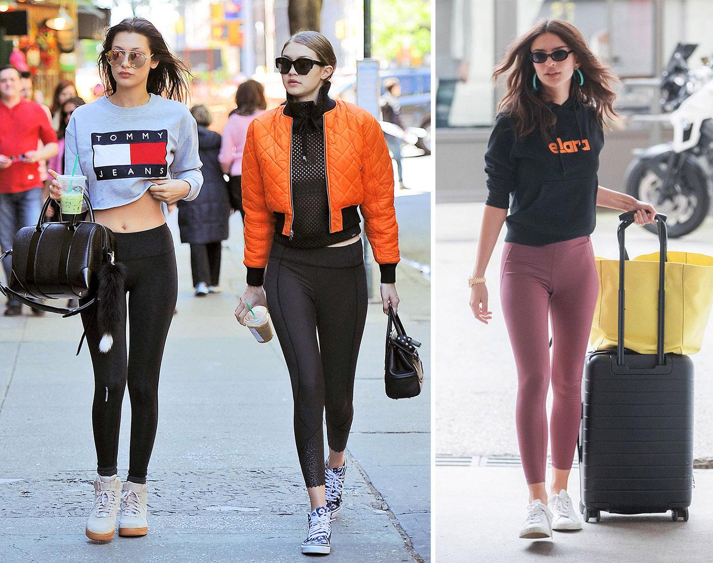 Legging xuống phố Anna chia sẻ, lỗi thời trang mà cô bắt gặp thường xuyên nhất là mặc đồ tập gym khi không ở phòng gym, thay vào đó là xuống phố đi dạo, thậm chí tới sân bay và đi du lịch. Tại sao vậy? Đúng là legging đem lại cảm giác thoải mái, nhưng chúng không phải món đồ dễ chịu nhất mà mọi người có thể mặc. Có nhiều mẫu quần vừa thoải mái vừa sành điệu, thanh lịch hơn, phù hợp bất cứ hoàn cảnh nào.