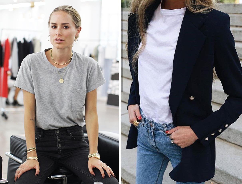 Áo thun Theo Anna Bey, áo thun là món đồ casual điển hình, chỉ nên mặc ở nhà chứ không đủ sang để theo chân nàng tới văn phòng, đi ăn tối, giao lưu xã hội hay tham dự các bữa tiệc.