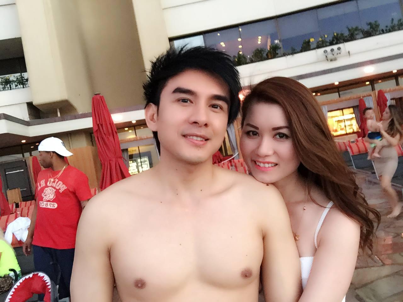 Đan Trường khoe body vạm vỡ trong một chuyến du lịch cùng vợ cũ - doanh nhân Thủy Tiên.