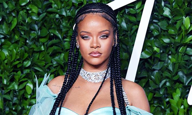 Ca sĩ Rihanna. Ảnh: USA Today.