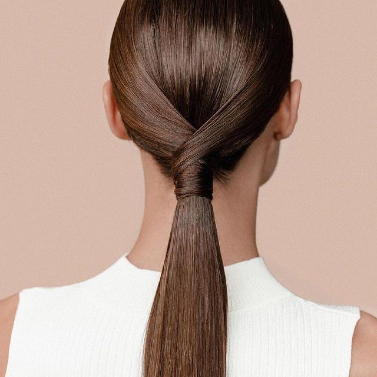 Không nên buộc, búi tóc quá chặt.