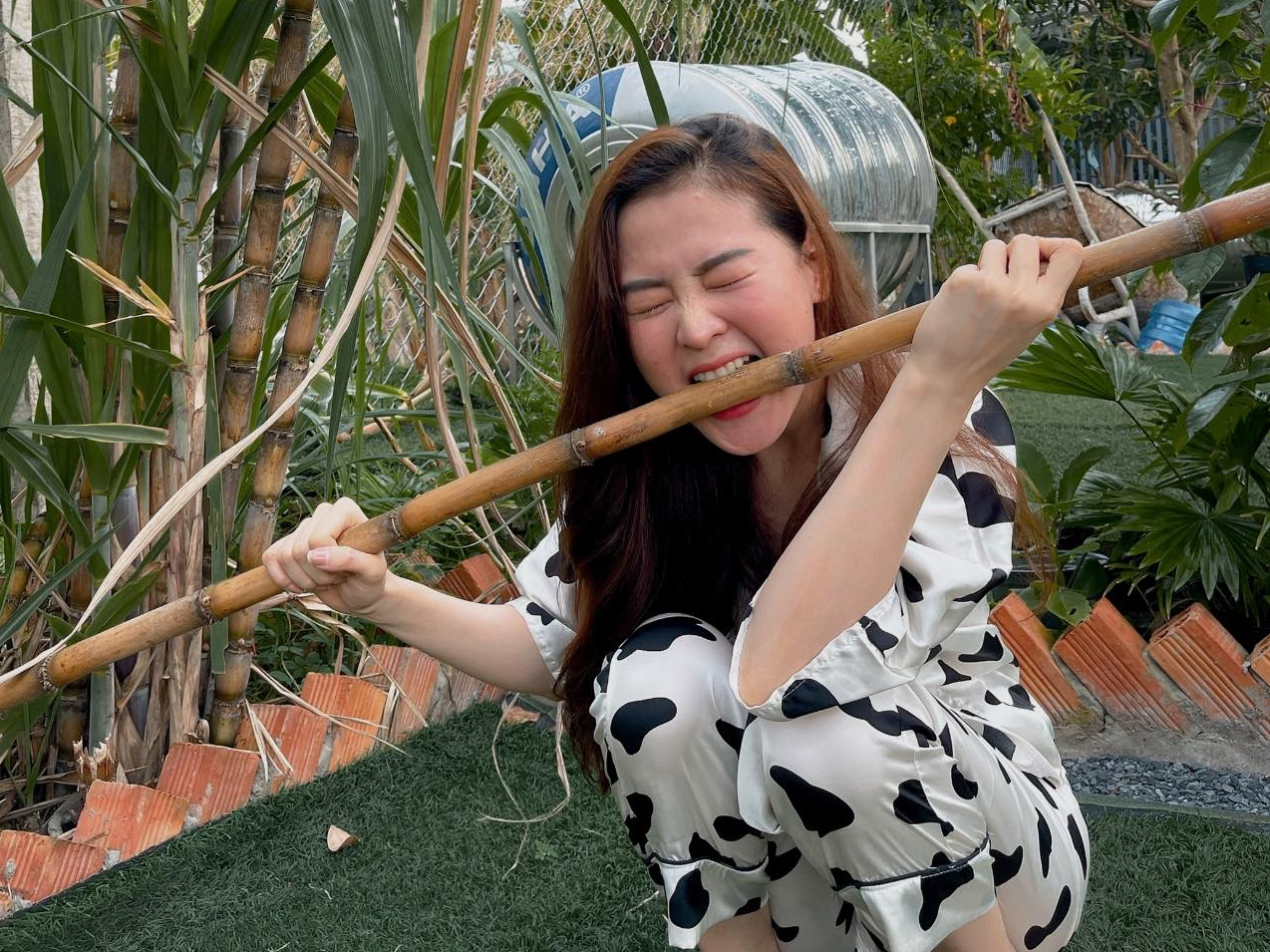 Bạn gái Minh Luân về quê Đồng Nai tránh dịch - 3