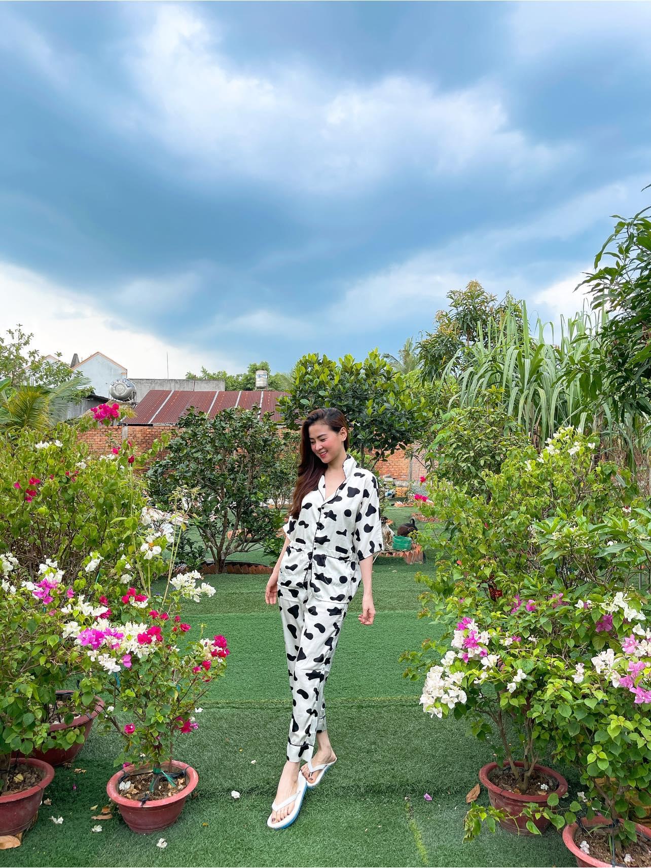 Bạn gái Minh Luân về quê Đồng Nai tránh dịch - 2