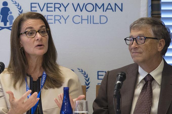 Bà Melinda và Bill Gates dự một sự kiện về phụ nữ và trẻ em năm 2015. Ảnh: Reuters.