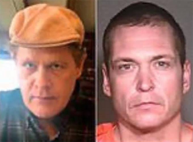 Joshua Spriestersbach (trái) và Thomas Castleberry (phải) không hề giống nhau nhưng vẫn bị cảnh sát nhận nhầm. Ảnh: FB.