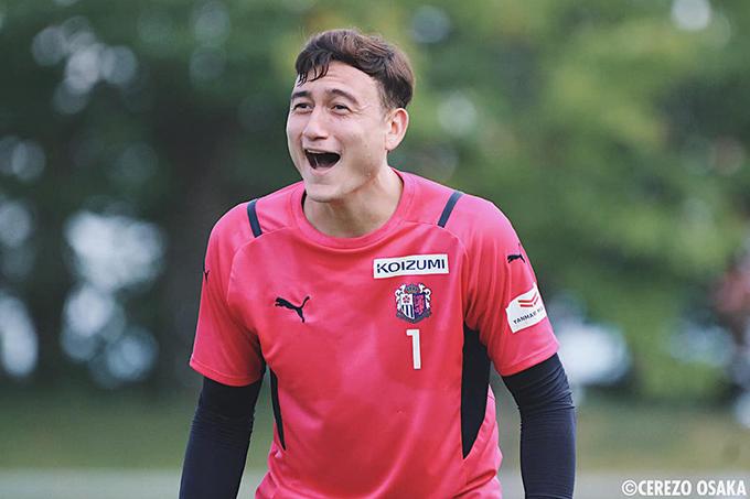 Dù ít được thi đấu ở CLB Cerezo Osaka, Văn Lâm vẫn cho rằng đây là những ngày tháng hạnh phúc nhất trong sự nghiệp của anh. Ảnh: CO.