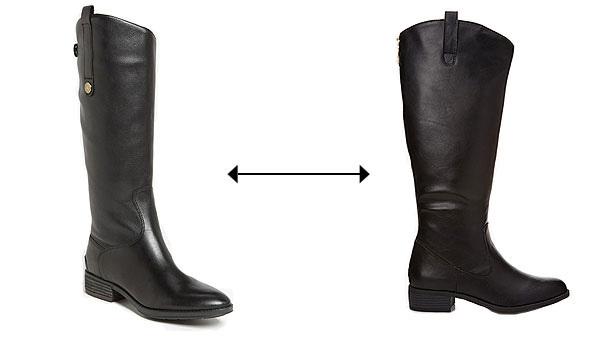 Đâu là đôi boots da thật với giá 170 USD của thương hiệu Sam?>> Xem đáp án
