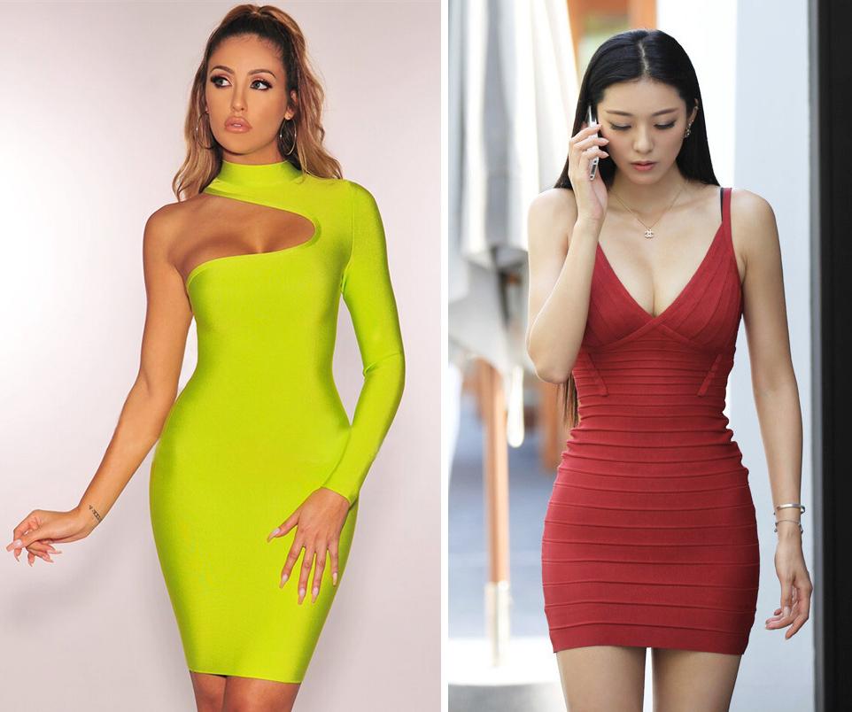 Váy ngắn bó sát cắt xẻ sexy Đây là kiểu váy đặc trưng của những phụ nữ tìm kiếm sự chú ý bởi họ đang khao khát có một người đàn ông, Anna Bey nhận định. Dù vậy, nàng cũng không nên chọn trang phục quá thận trọng như một nữ tu. Để phù hợp một buổi hẹn hò, hãy ưu tiên các thiết kế nữ tính, vừa vặn, tôn dáng.