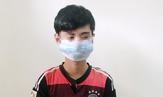 Quách Phú Thành tại cơ quan điều tra. Ảnh: Ánh Dương