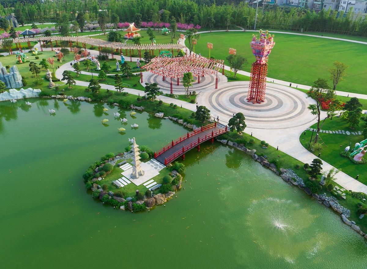 Công viên Nhật Bản Zenpark phong cách đem đến cho cư dân những trải nghiệm thú vị.