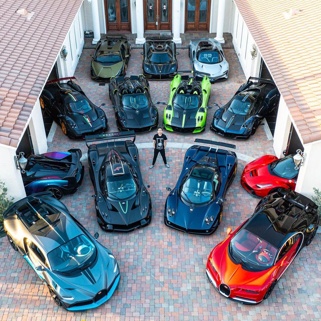 Bộ sưu tập xe khủng của Mike Yin.