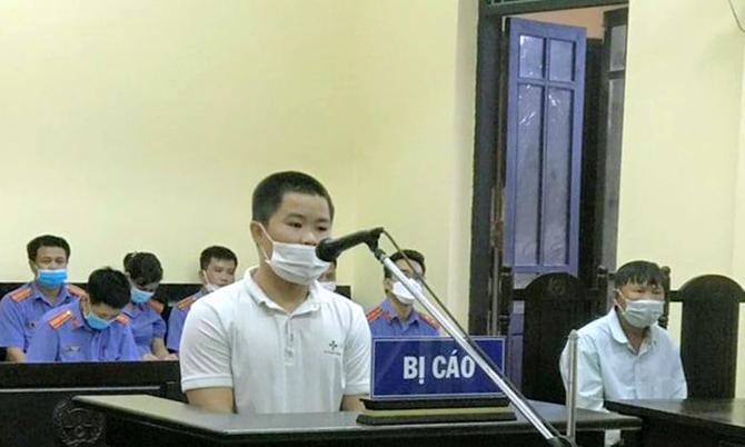 Bị cáo Sỹ tại tòa. Ảnh: Hùng Lê