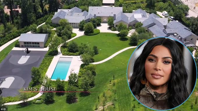 Biệt thự của Kim Kardashian.