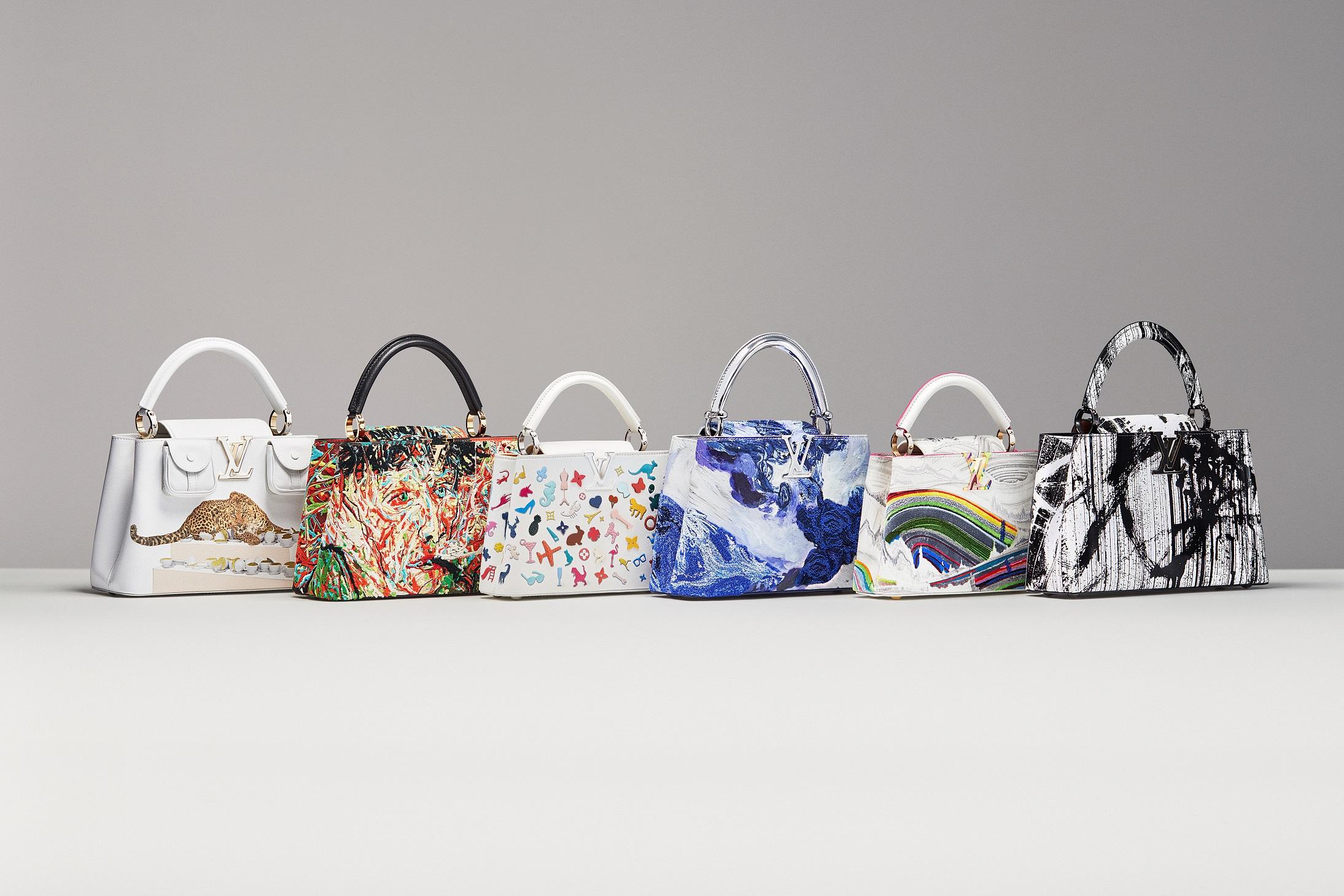 Góc nhìn nghệ thuật sáng tạo cùng kỹ nghệ chế tác cao cấp tạo dấu ấn cho BST Artycapucines. Ảnh: Louis Vuitton
