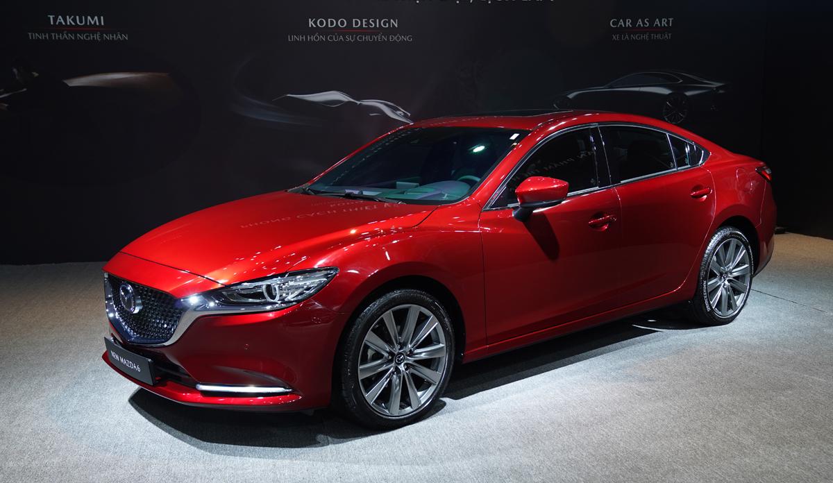 Mazda6 ra mắt tại Việt Nam hồi tháng 6/2020. Ảnh: Thaco