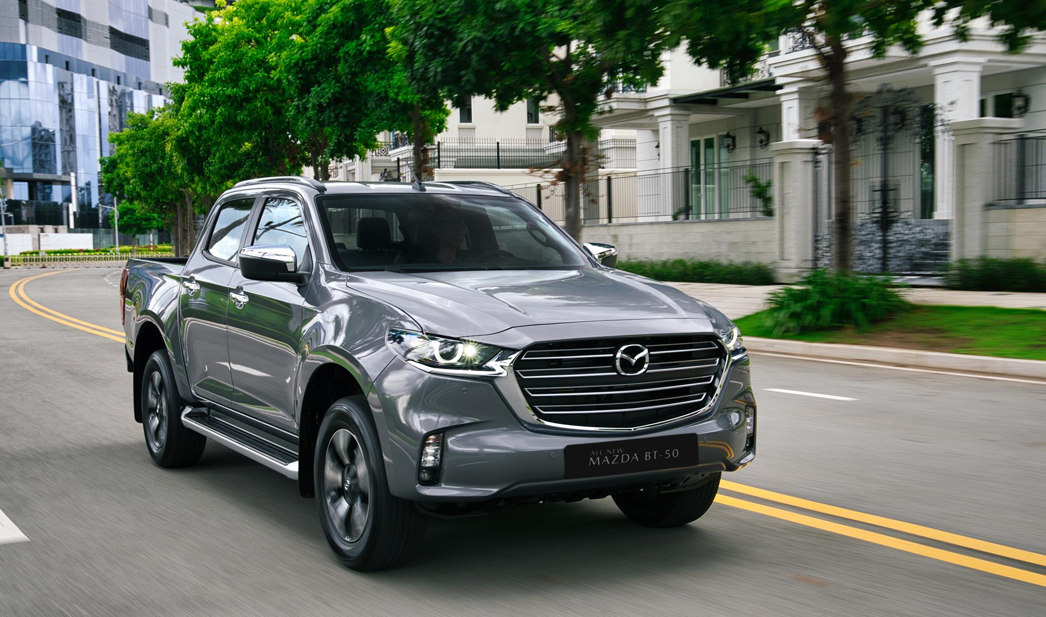 Mazda BT-50 mới tại Việt Nam. Ảnh: Thaco