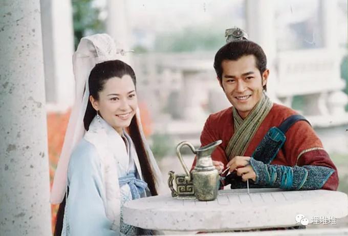 Cổ Thiên Lạc và Quách Thiện Ni lần đầu đóng cặp đã vướng tin đồn yêu nhau.