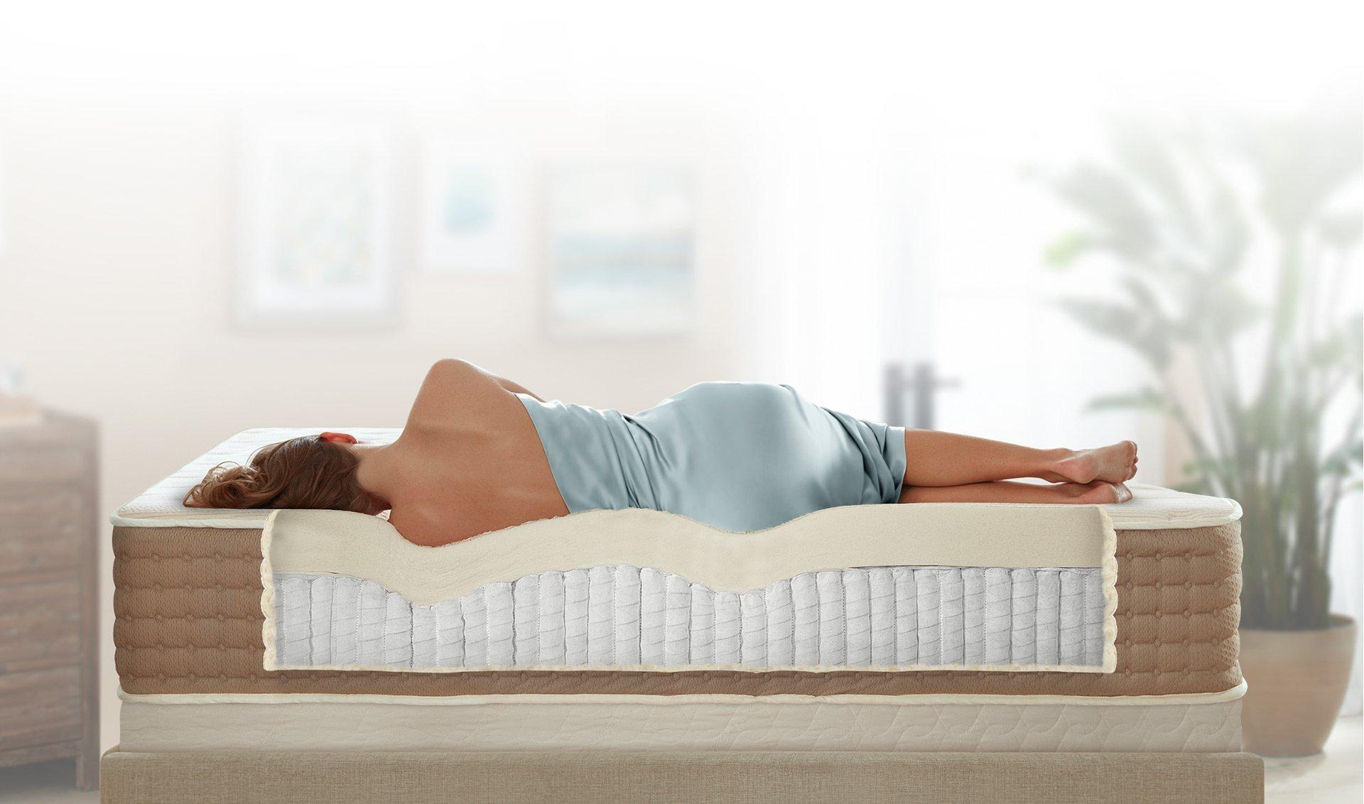 Một chiếc đệm thoải mái sẽ giúp bạn ngủ ngon hơn.
