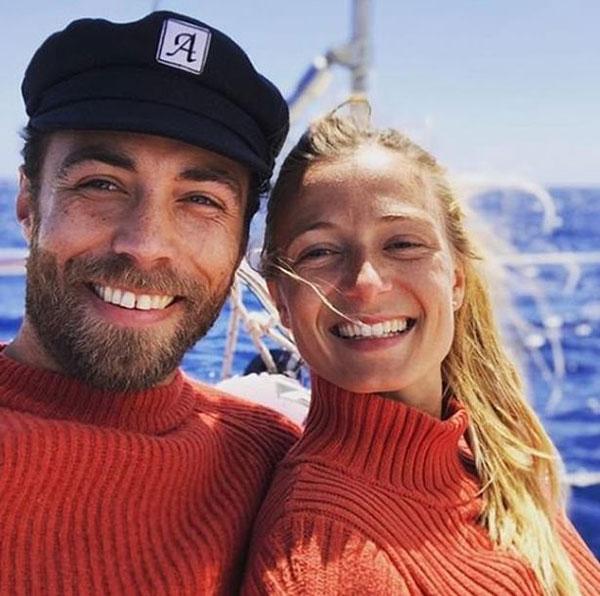 James và Alizee bắt đầu hẹn hò từ năm 2018. Ảnh: Instagram