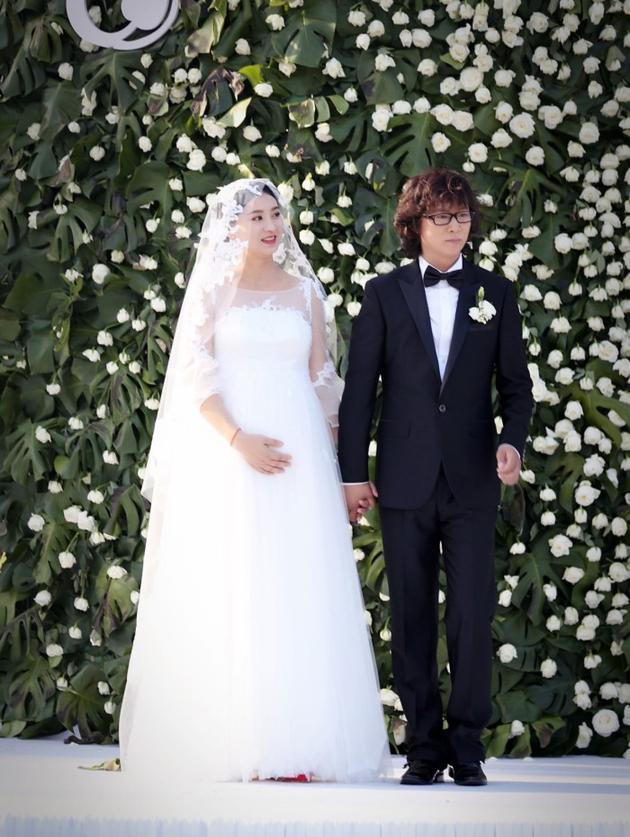 Lan Hy ngày thành hôn.