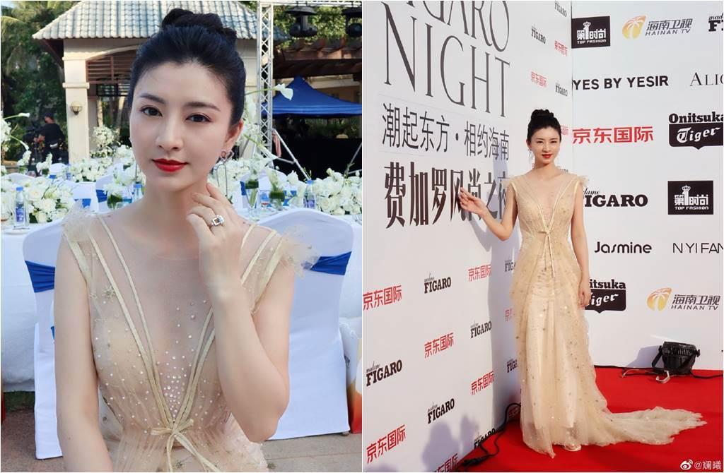 Thẩm My Trang xinh đẹp khi dự sự kiện hồi tháng 5.