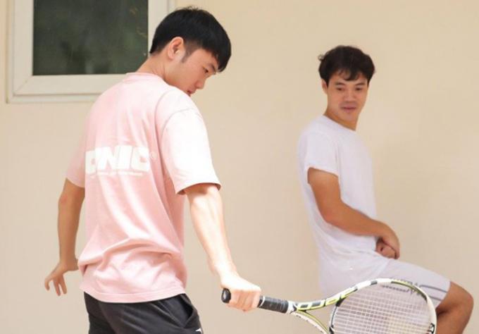 Xuân Trường là tay vợt có số má ở tuyển Việt Nam và CLB HAGL. Ảnh: HAGL Official.