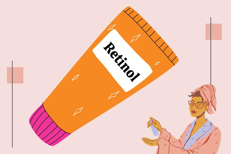 Retinol giúp chống lão hóa da hiệu quả nhưng dễ làm khô da, nên kết hợp với sản phẩm chứa axit hyaluronic để bù ẩm cho da.