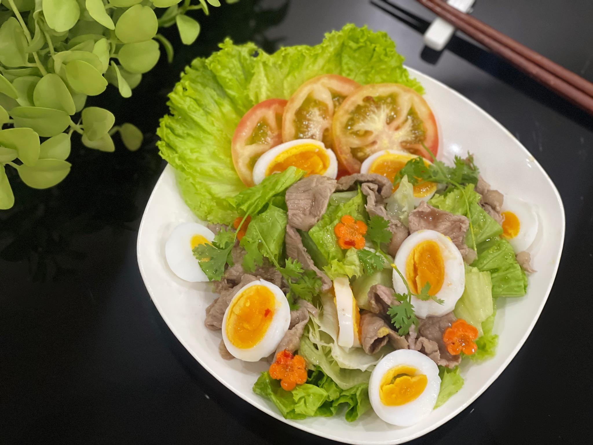 Salad thịt bò xà lách - 1