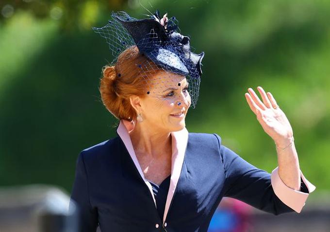 Bà Sarah Ferguson vẫn được giữ lại tước hiệu nữ Công tước xứ York sau khi ly hôn Hoàng tử Andrew. Ảnh: PA