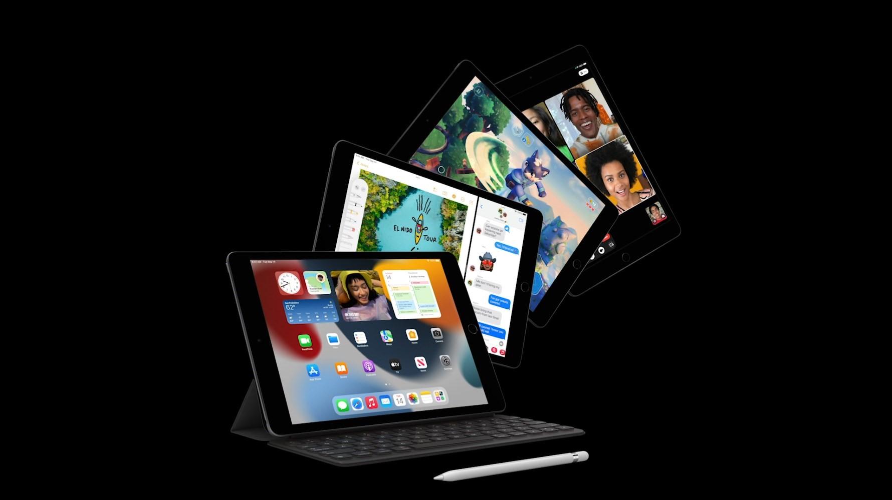 iPad thế hệ mới giá từ 329 USD. Ảnh: Apple