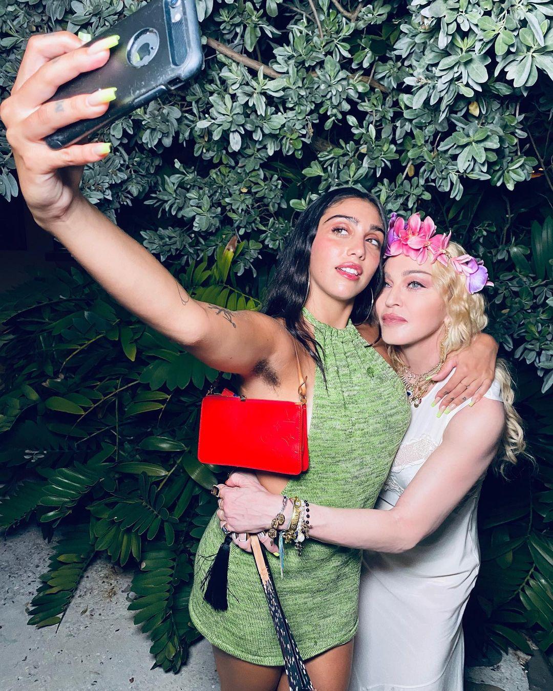 Lourdes Leon và Madonna.