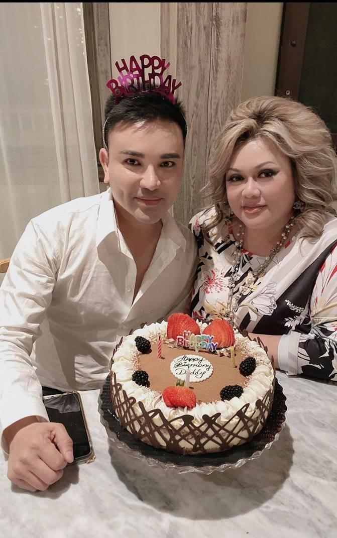 Kevin Nguyễn và Hương Lê - người bạn tổ chức sinh nhật cho anh.