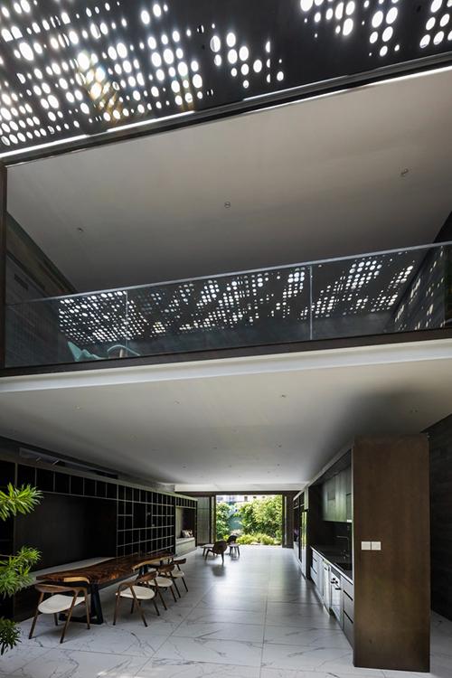Biệt thự có các không gian được xây dựng với một chức năng cụ thể, nhưng cũng có thể đáp ứng nhiều chức năng khác nhau.