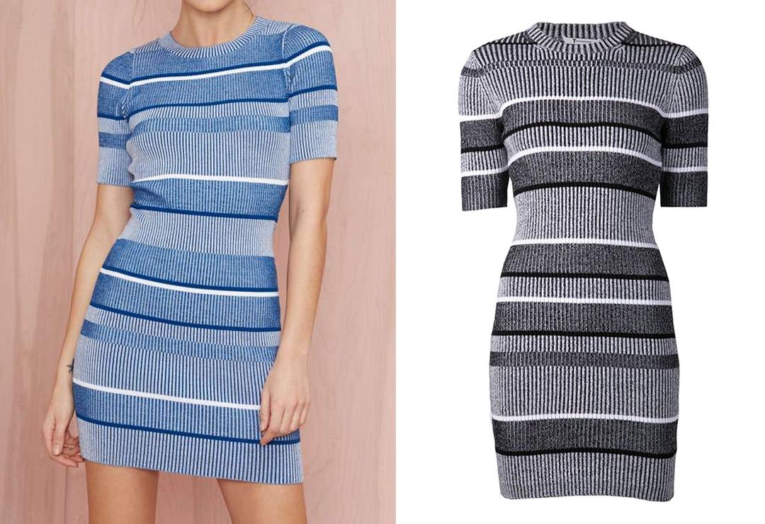Đâu là chiếc váy len đắt hơn xấp xỉ 300 USD so với sản phẩm còn lại?>> Xem đáp án