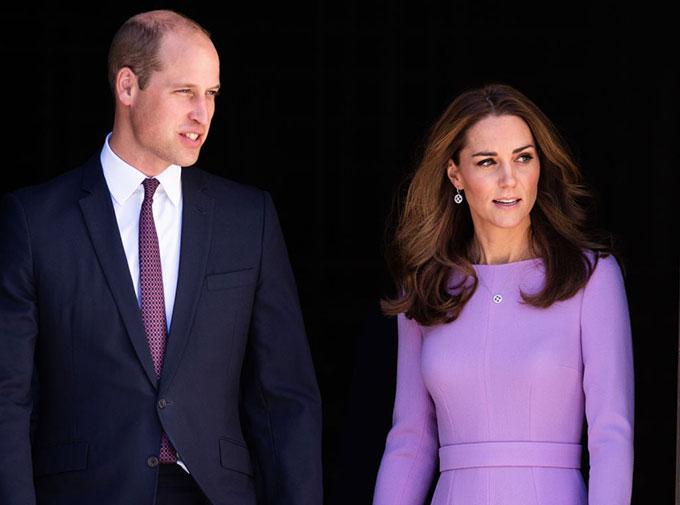 William và Kate trong một sự kiện năm 2018. Ảnh: UK Press