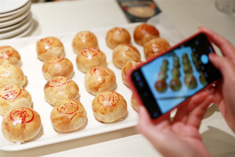 Bánh nướng 18 lớp kiểu Tô Châu.