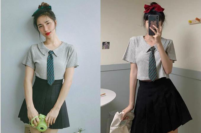 Với chỉ khoảng 300.000 đồng, các chị em đã có thể sở hữu một set váy áo giống Hòa Minzy.