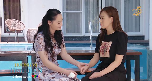 Tạo hình của Quách Thu Phương và Phương Oanh ở phần sau của Hương vị tình thân.