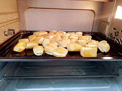 Bánh mì ruốc xốt chanh leo - 2