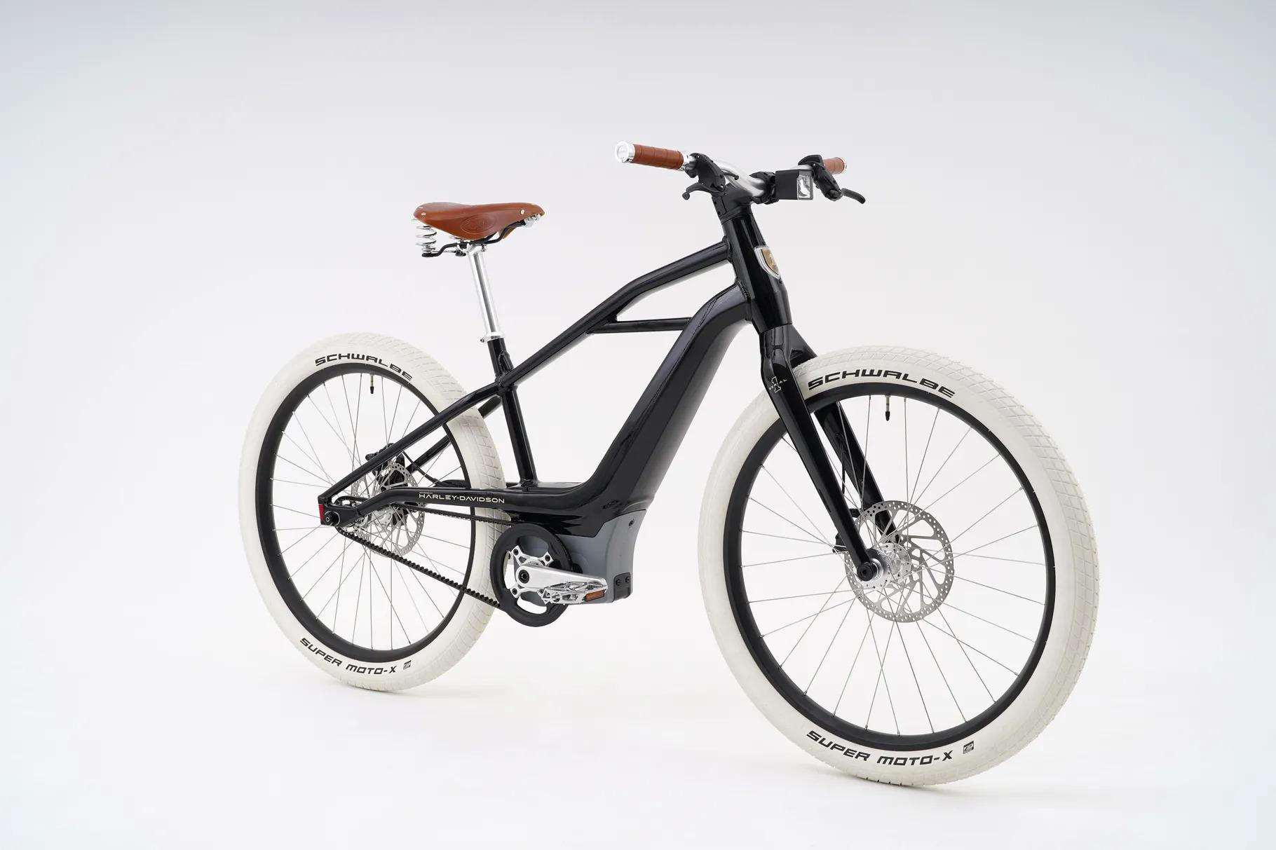 Xe đạp điện phong cách cổ điển của Harley-Davidson.