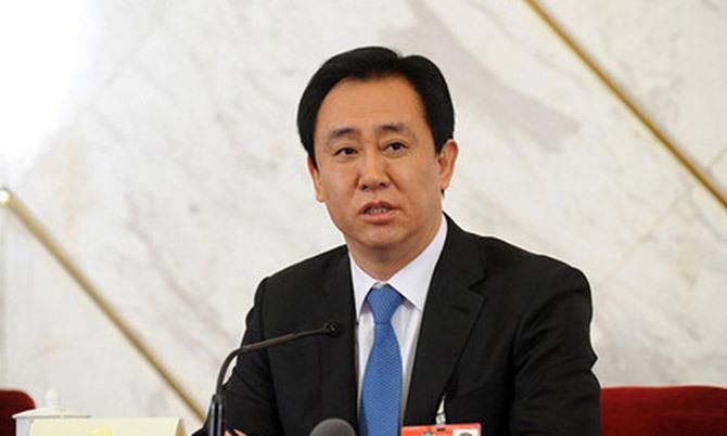 Tỷ phú Hui Ka-yan, chủ tịch Tập đoàn Evergrande. Ảnh: Chinanews.