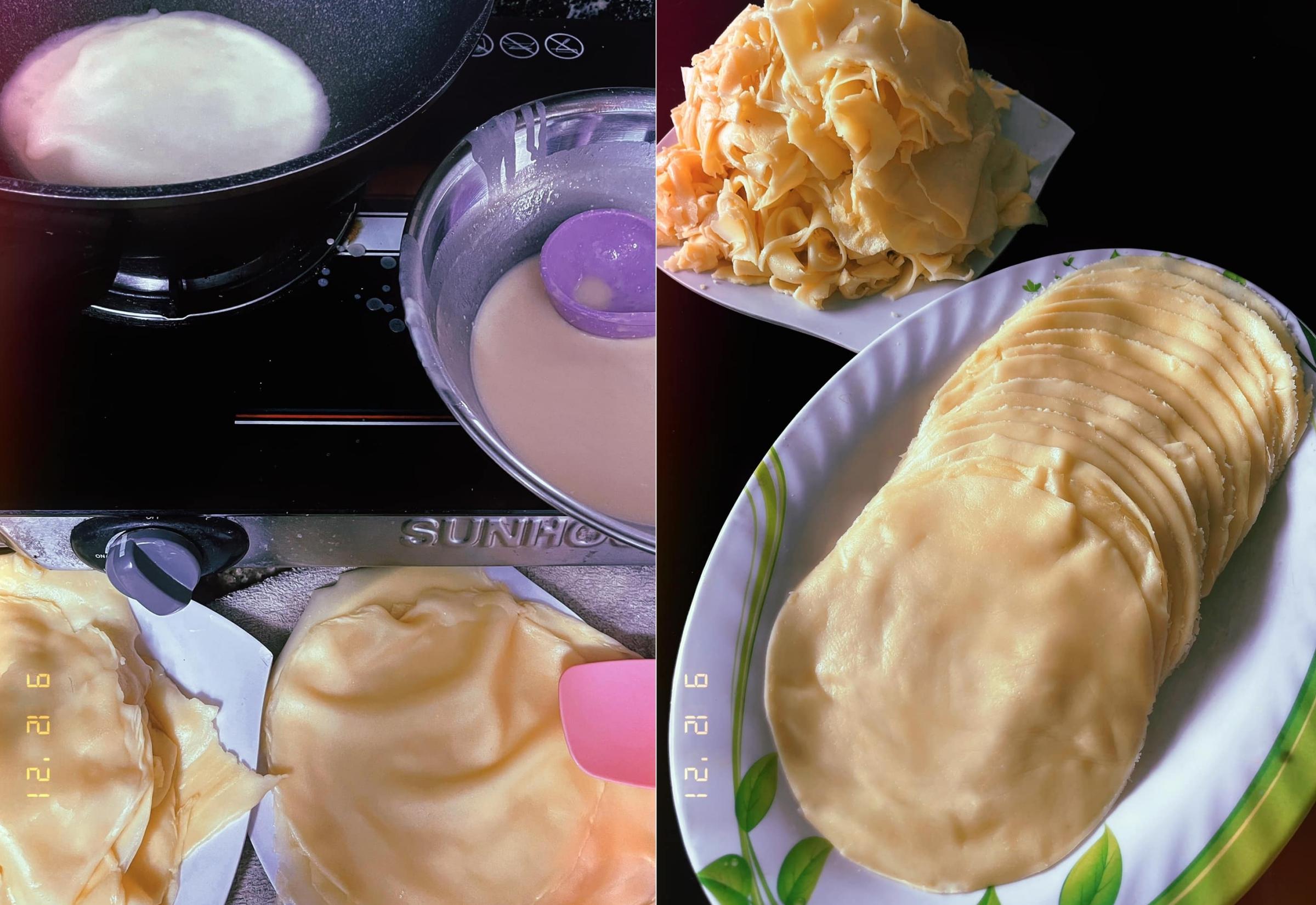 BB Trần mua một quả sầu riêng làm bốn món bánh - 1