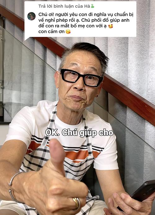 Nhờ gu thẩm mỹ và cách phối đồ ứng dụng hợp thị hiếu, ông Lưu Đức Tân tạo được sức hút của khán giả và ngày càng sở hữu nhiều fan hâm mộ.