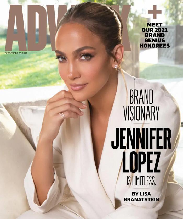 Jennifer Lopez được Adweek vinh danh.