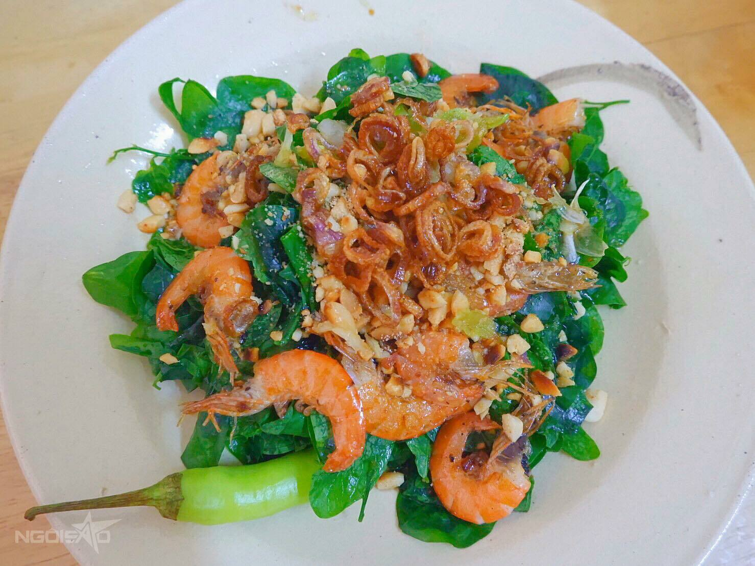 Salad rau ngót